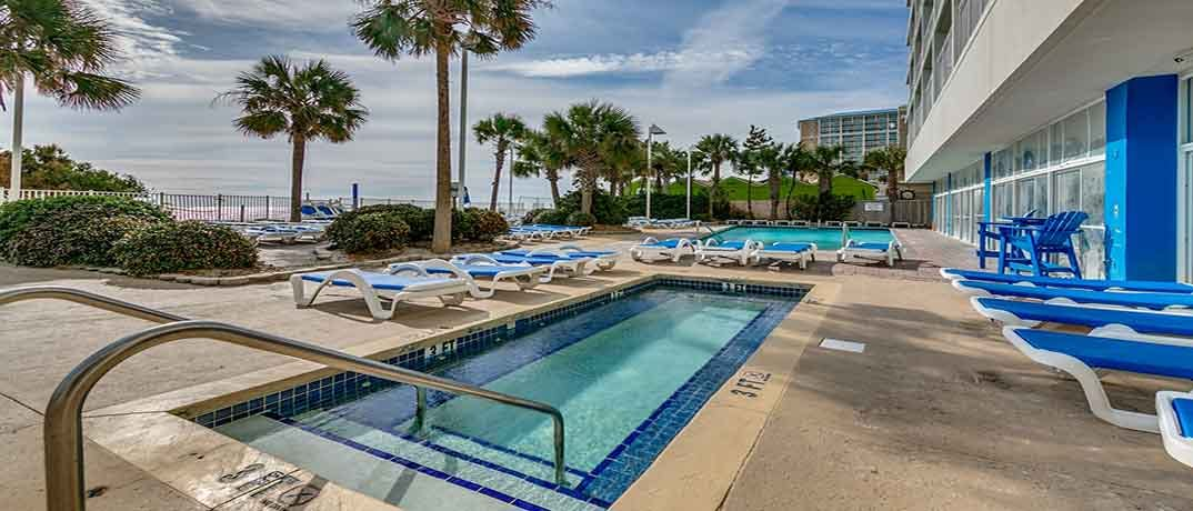 Sandy Beach Resort Myrtle Beach Condo Rentals Oceanfront