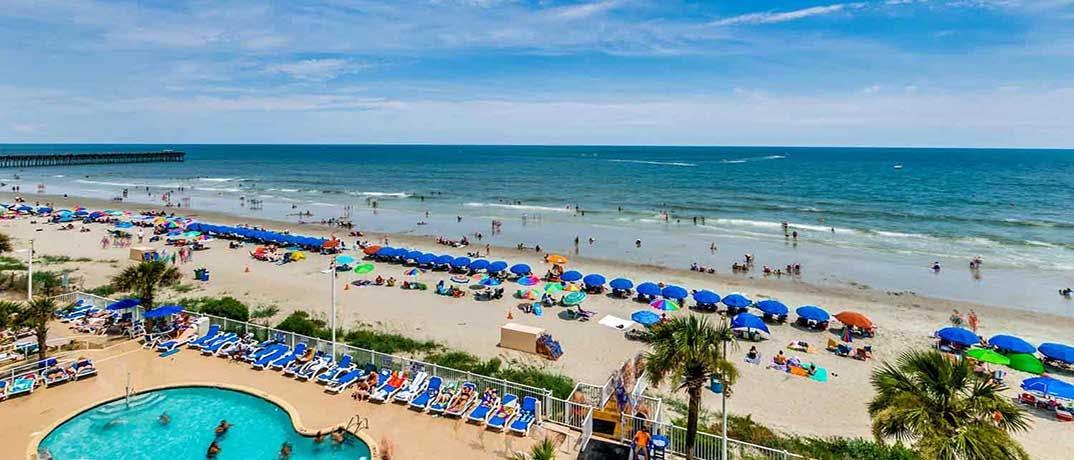 Sandy Beach Resort Myrtle Beach Condo Rentals Oceanfront
