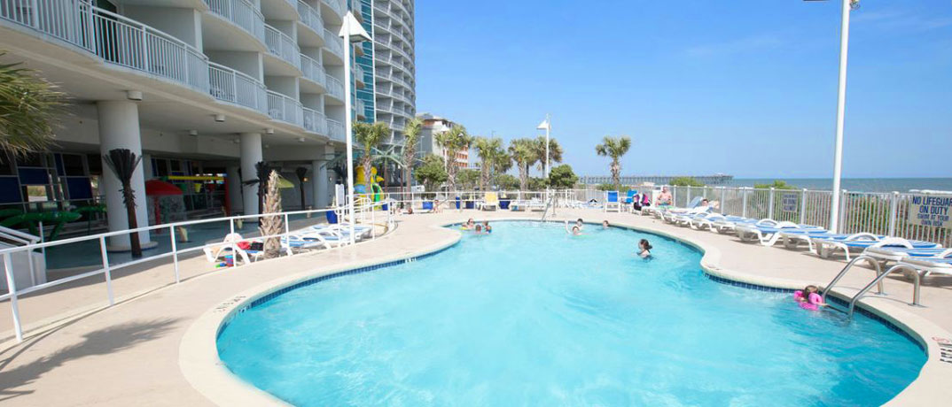 The Grand Strand Popular Sandy Beach Resort Area Is In