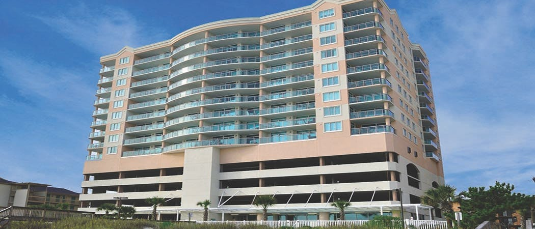 Blue Water Keyes North Myrtle Beach Oceanfront Vacation Condos