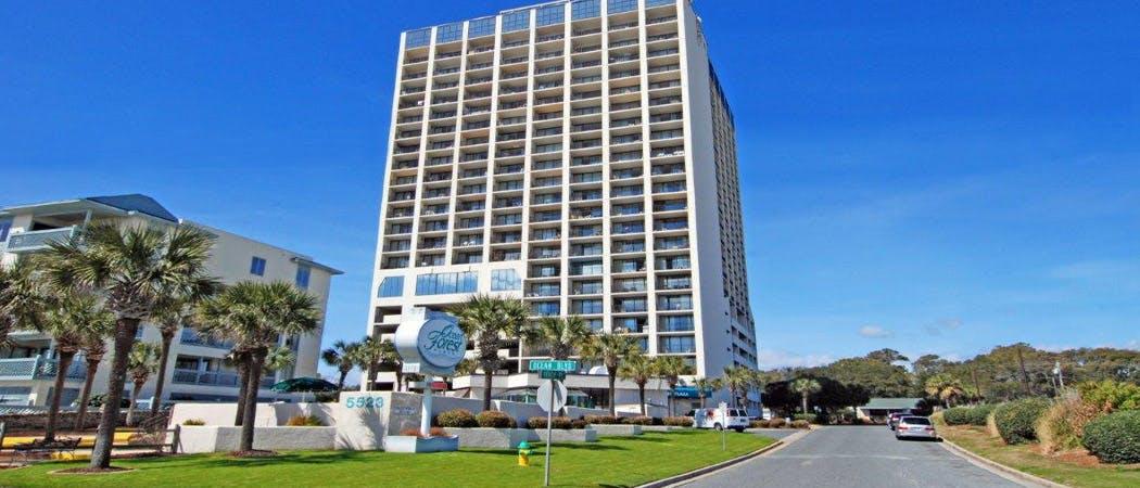 Ocean Forest Plaza Myrtle Beach Sc Resort Condo Rentals