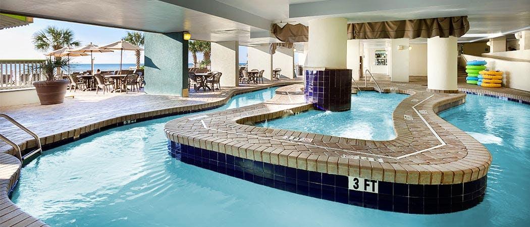 Paradise resort myrtle beach oceanfront resort in myrtle - Indoor swimming pool myrtle beach sc ...