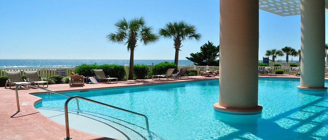 Blue Water Keyes North Myrtle Beach Oceanfront Vacation