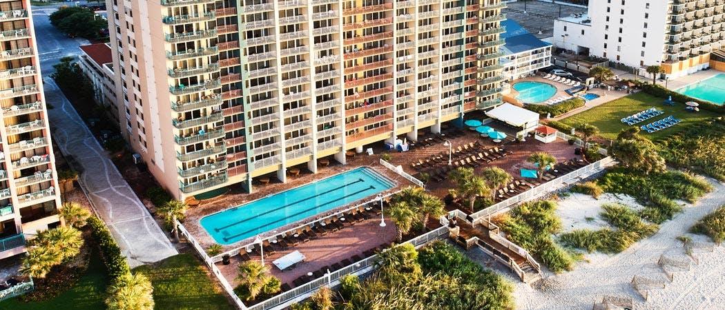 Myrtle Beach Resorts >> Paradise Resort Myrtle Beach Oceanfront Resort In Myrtle Beach